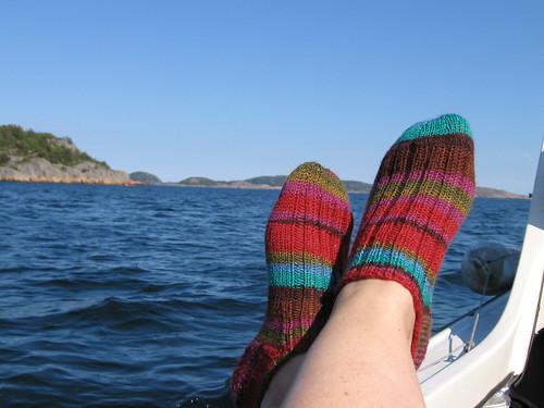 Tur med båden