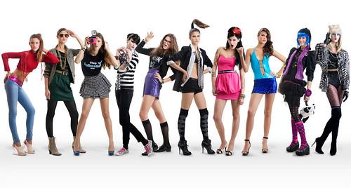 フリー写真素材, 人物, 女性, 集団・グループ・群衆, ファッション,