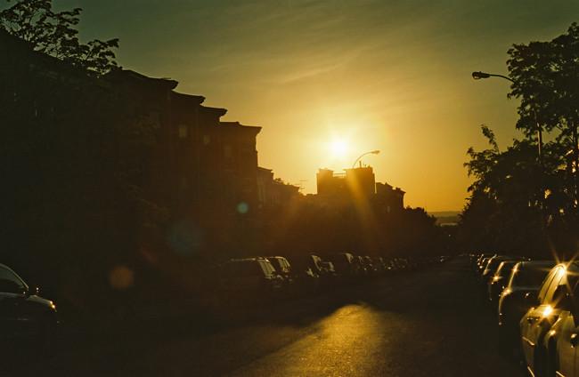 Slope Sunset