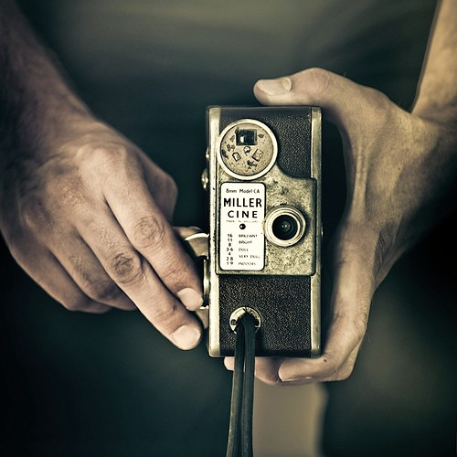 Cuba Gallery: Retro / vintage / camera / hands / photography