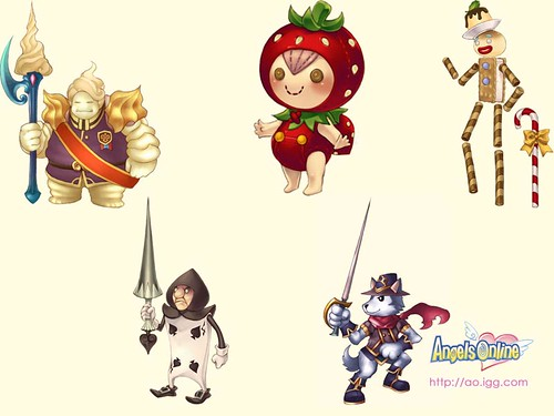 Angels Online MMO expansion details from IGG - MMOGames com