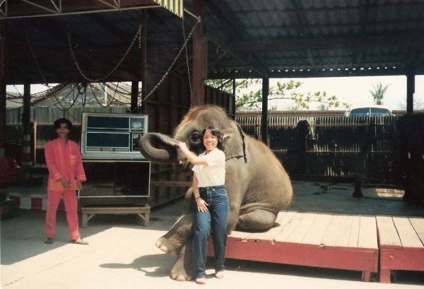 Mom in Thailand