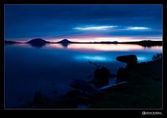Pre Dawn Kiss of Blue (chrisb04901) Tags: blue water sunrise dawn maine mooseheadlake