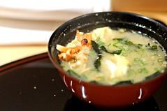 Prawn head miso soup, Tatsuya, Goodwood Hotel