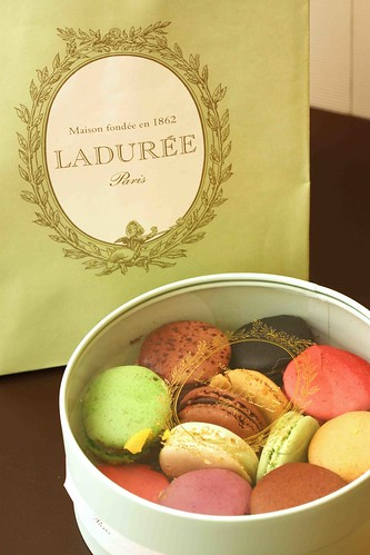 Macarons from Laduree, Paris