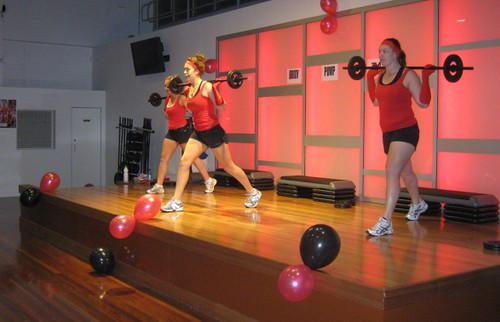 Connect Fitness Body Pump Launch May 2010