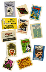 Cracker Jack toys 2 (T and L basement) Tags: ephemera crackerjacktoys