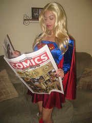Supergirl- Wednesday Comics (VictoriaCosplay) Tags: night victoria superman batman supergirl dccomics smallville justiceleague blackest victoriacosplay wwwcosplaygirlwebscom