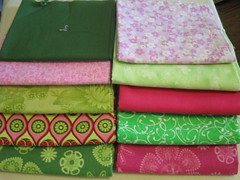 fabrics for CrazyMomQuilts Quilt Along