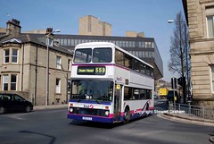 First West Yorkshire H133FLX (MCW1987) Tags: west london 33 yorkshire first northern leyland counties palatine olympian buslines h133flx