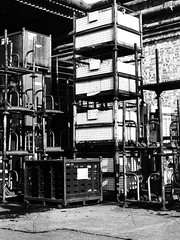 Industrial 2 (Mark Kidsley) Tags: uk urban blackandwhite bw white black northampton industrial factory unitedkingdom mark northamptonshire d80 nikond80 kidsley markkidsley markkidsleyphotography