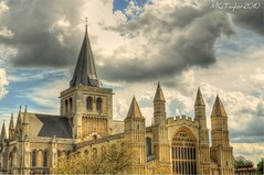 Rochester Cathedral (Tryppyhead) Tags: england kent cathedral rochester 1001nights hdr 3xp photomatix platinumheartaward nikond5000 mygearandme mygearandmepremium mygearandmebronze mygearandmesilver mygearandmegold