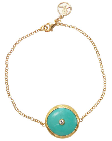 Turquoise Evil Eye Luck Bracelet