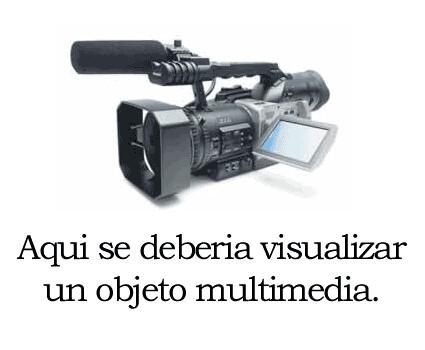 Aqui deberia visualizar un objeto multimedia