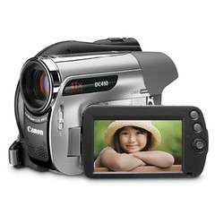 Canon Photo DV DVD Camcorder DC410