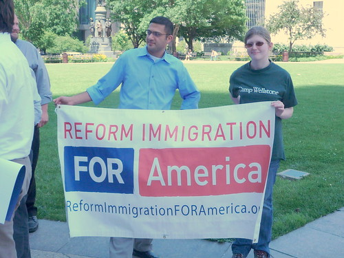 Rally For Immigration Reform