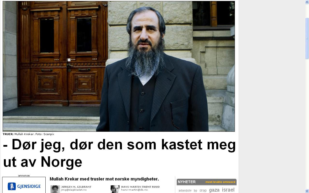 vendetta eller sharia