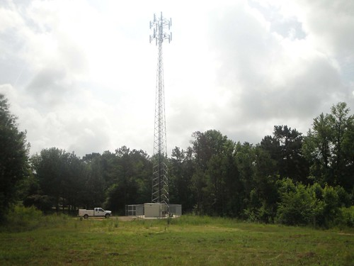 A Pine Telephone Company broadband site in Oklahoma. USDA funds will deliver affordable broadband to portions of the Choctaw Nation.