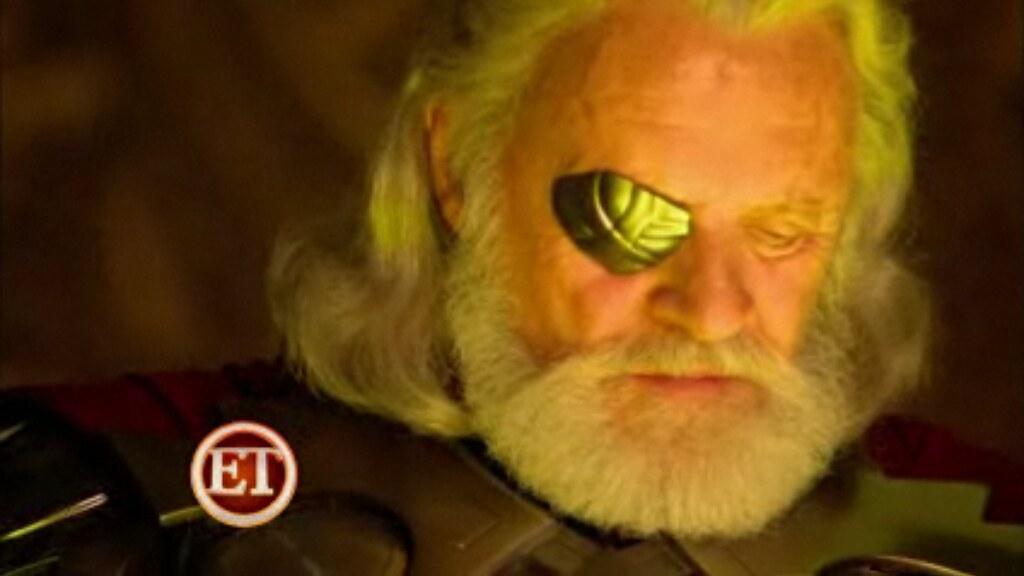 2011 Marvel's Thor movie Anthony Hopkins as Odin