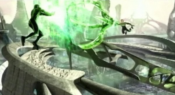fight Green Lantern Movie