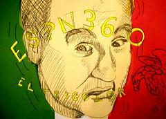 Patrick's Panic (giveawayboy) Tags: portrait art pen mexico sketch football drawing retrato soccer patrick portrt panic tricolor worldcup futbol ritratto portree mynd  2010 portrett portrtt potret lineform   espn360 erretratua portrid eltricolor