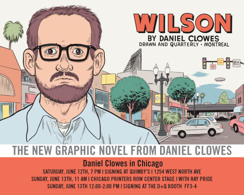 Sunday at Printers' Row with Dan Clowes