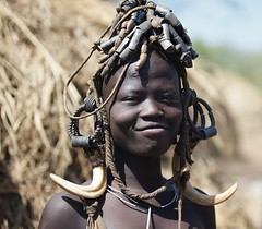 Pride (ingetje tadros) Tags: africa travel decorations portrait people girl face canon dark community cattle young culture streetphotography tribal single afrika remote ethiopia tribe ethnic mursi indigenous omo ethiopie mursitribe travelphotographer internationalgeographic ingetjetadros