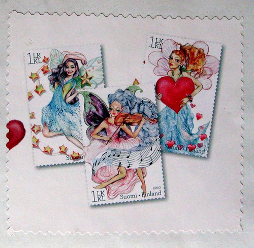 Finnish Fairy stamps