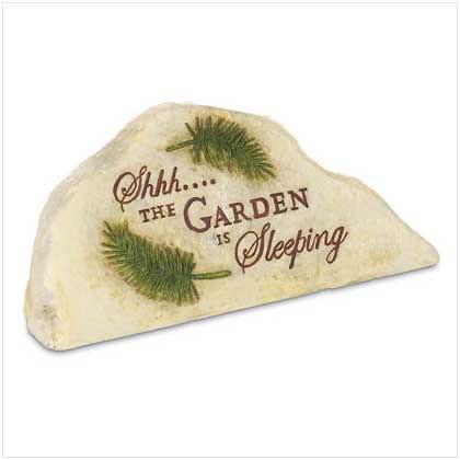 37204 Sleeping Garden Stone Key Hider $12.95