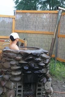【三部牧場】五右衛門風呂