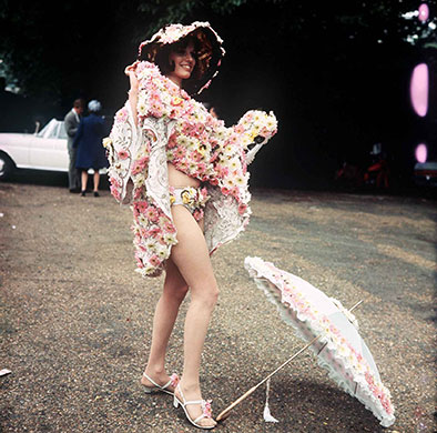 Royal Ascot 1968, fashion, clothes, style, outfit, vintage, photo, 1910s, 1920s, 130s, 1940s, 1950s, 1960s