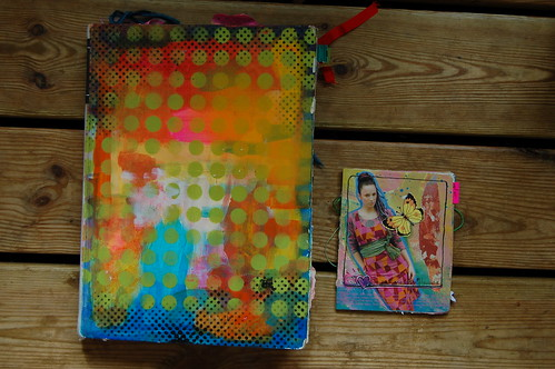 Art Journal & XS journal (Photo by iHanna - Hanna Andersson)