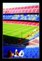 Ms que un club (Pemisera) Tags: barcelona sport stadium soccer catalonia estadio deporte catalunya campnou bara fcbarcelona catalua catalogna catalogne esport katalonia estade estadi futbolclubbarcelona msqueunclub futbolfootball pemisera