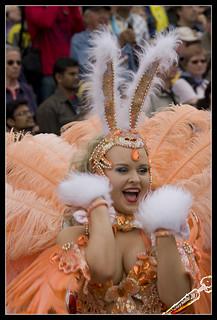 Happy carnival bunny