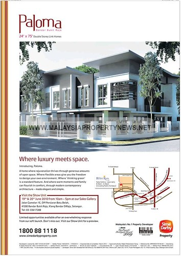 Double Storey Link Houses For Sale in Klang