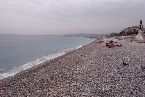 蔚藍海岸,可惜今天天氣不藍