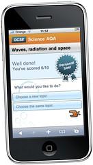 BBC Bitesize on iPhone