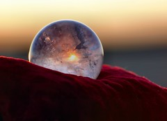 Solar Power !! (nondesigner59) Tags: light summer festival sunrise warm crystal bokeh solstice sphere 100views celtic quartz pagan wiccan eos50d concordians unlimitedphotos nondesigner nd59