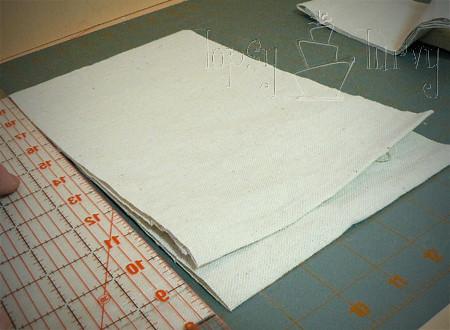 canvas satchel tutorial bag cut