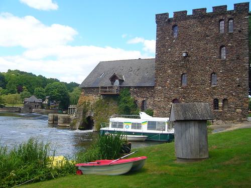 Moulin de Chenillé en Anjou par l'auteur