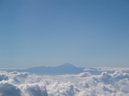 El Teide depuis l'avion Las Palmas IMG_1246