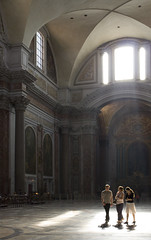 A Sense of the Numinous... (Lawrence OP) Tags: light rome space have diocletian baths backlit santamariadegliangeli tepidarium