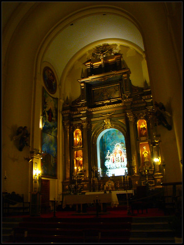 Iglesia de SM de la Villa Retablo