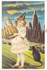 Halloween Vintage Reprint Postcard (crayolamom) Tags: halloween vintage postcard forum postcrossing greetings reprint