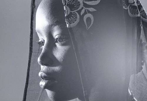 Jeune fille maure. Young girl mauritanian.