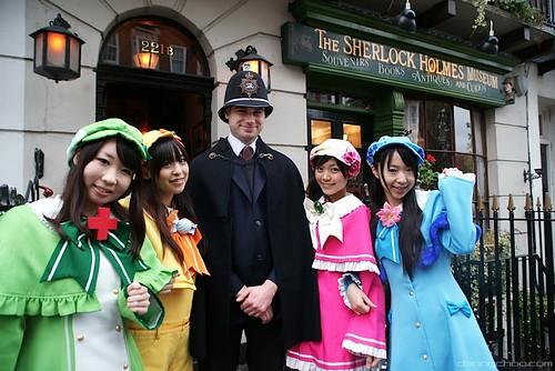 Milky Holmes in London