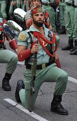 Da de la Hispanidad 12 Octubre 2010 (Oscar in the middle) Tags: army spain legion legionaire espaol ejercito espaola legionario gastador