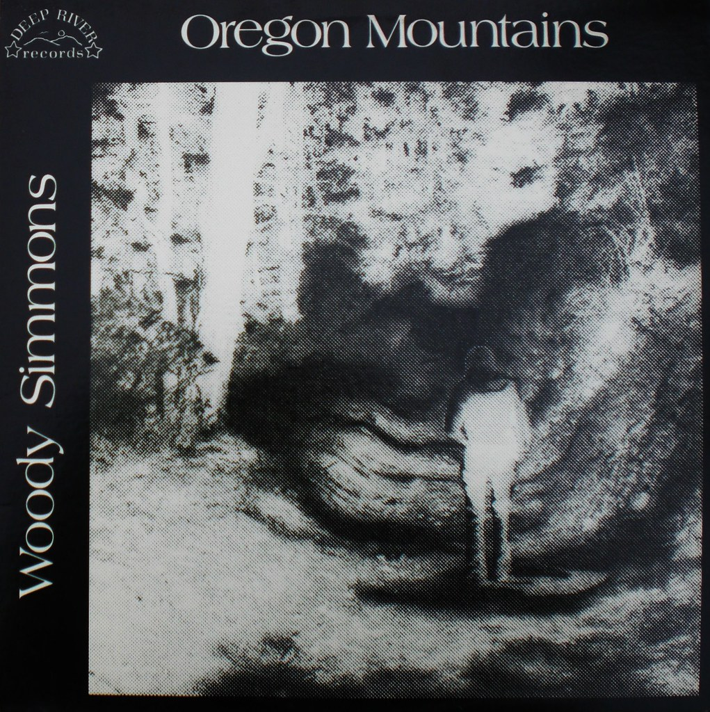 Woody Simmons - Oregon Mountains LP front cover