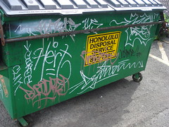 Honolulu Graffiti, 2010 (HiZmiester) Tags: ev westside krush cuk dzine hert bloodred giroe krusha nakas