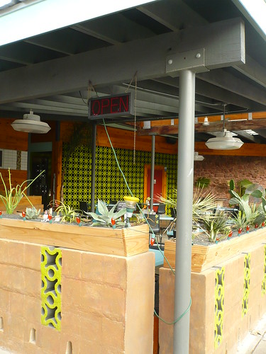 Snack Bar Outdoor Seating